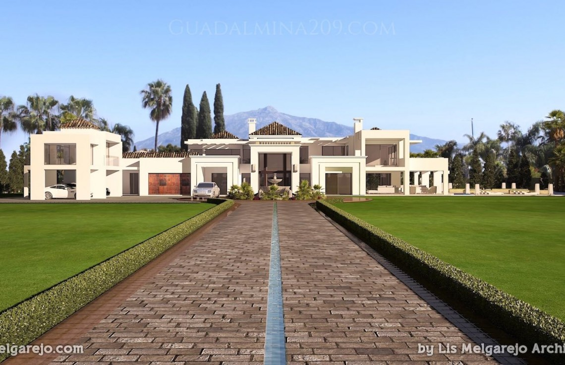 Marbella mansions for sale > Guadalmina 209 > Mansion drive