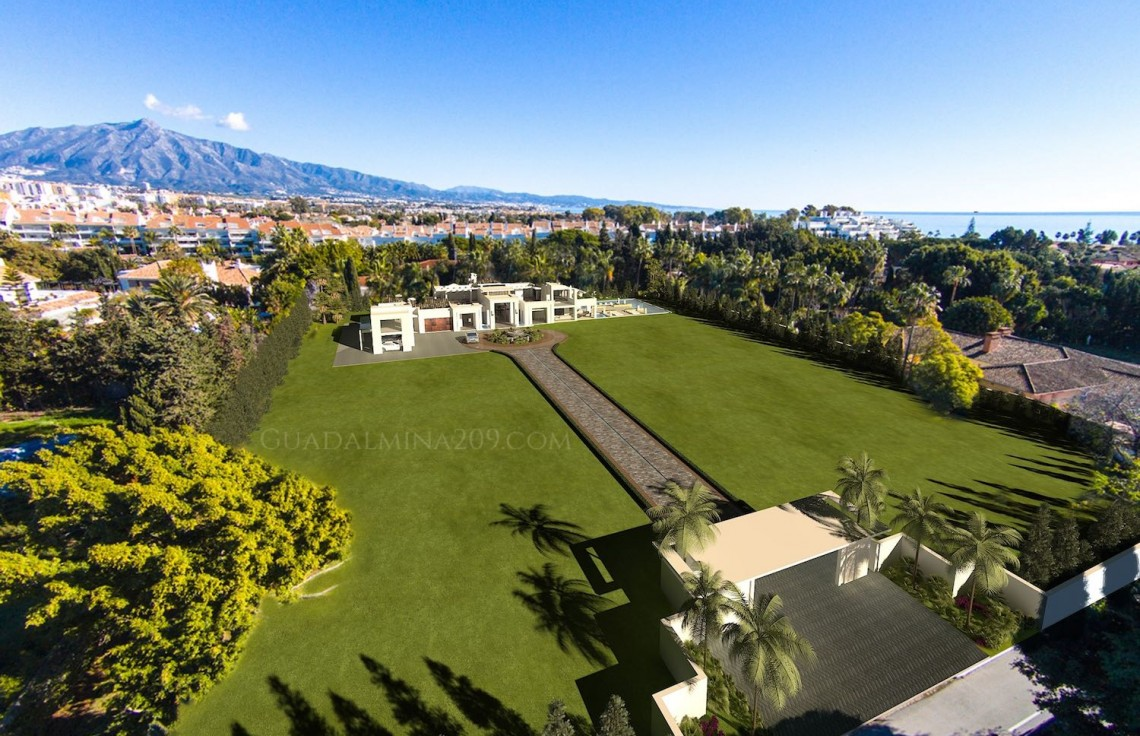 Marbella mansions for sale > Guadalmina 209 > Mansion plot