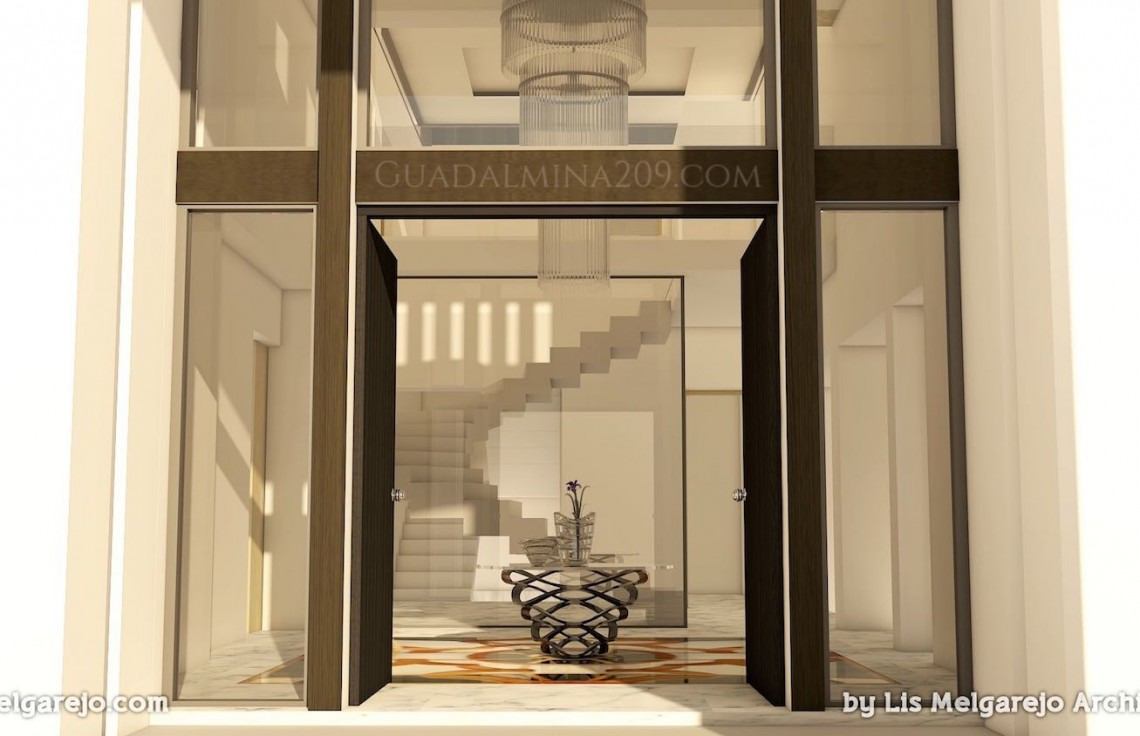 Marbella mansions for sale > Guadalmina 209 > Mansion entrance