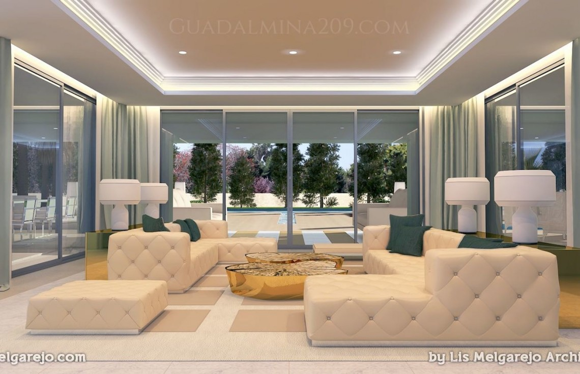 Marbella mansions for sale > Guadalmina 209 > Mansion living