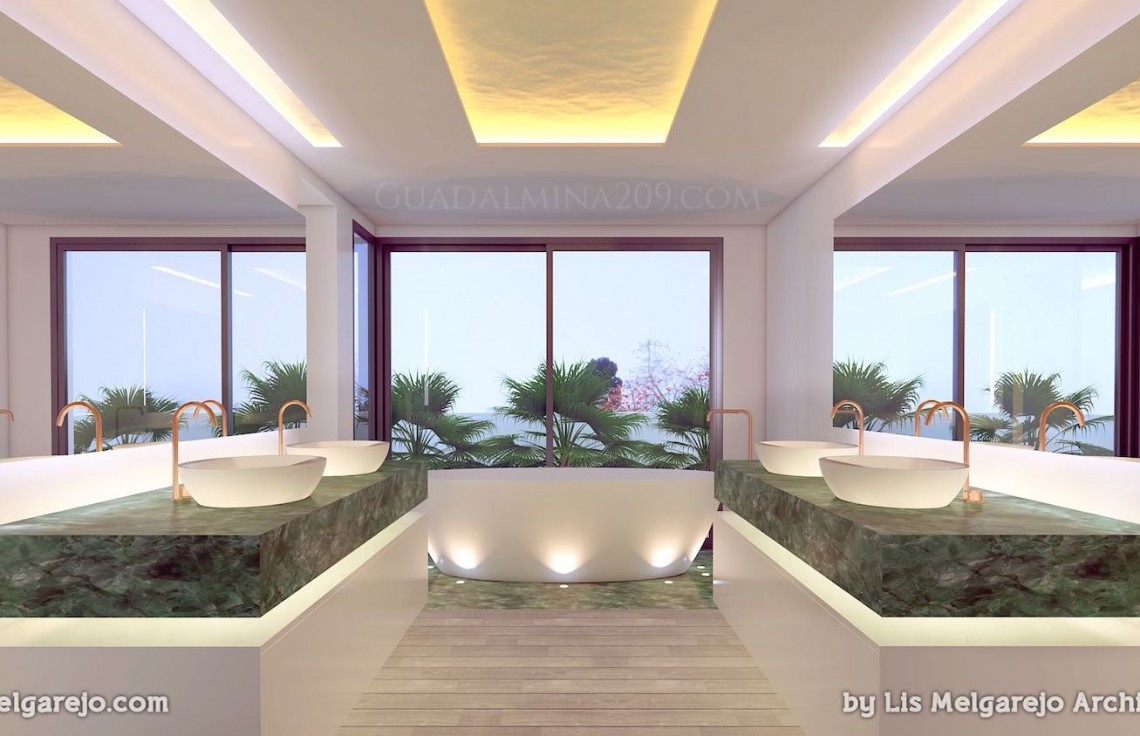 Marbella mansions for sale > Guadalmina 209 > Mansion bathroom