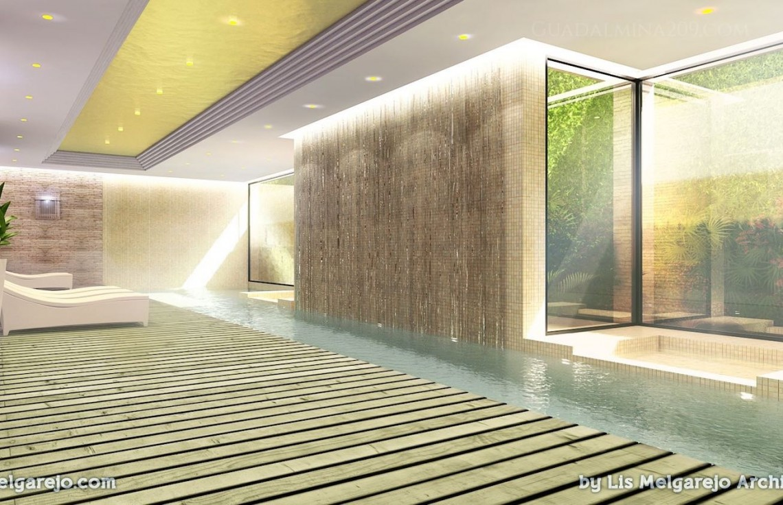 Marbella mansions for sale > Guadalmina 209 > Mansion indoor pool