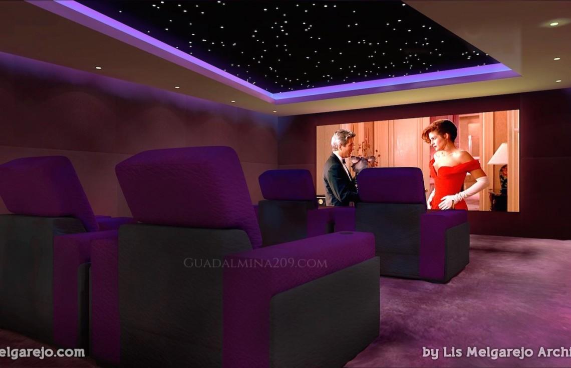 Marbella mansions for sale > Guadalmina 209 > Mansion home cinema