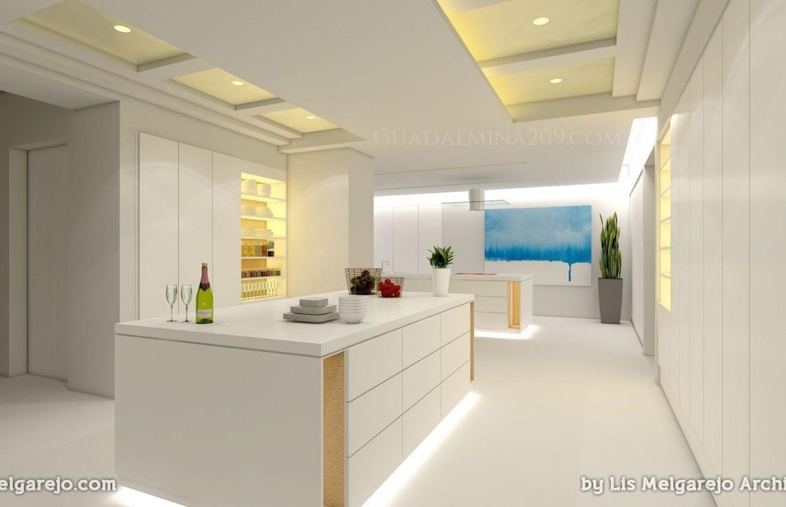 Marbella mansions for sale > Guadalmina 209 > Mansion kitchen